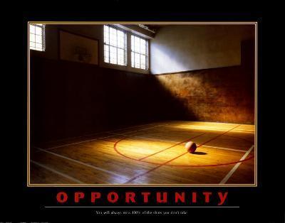 Motivational Opportunity--Art Print