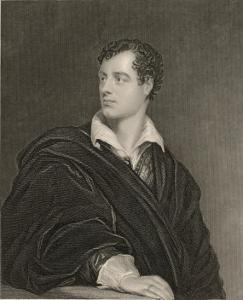 George Gordon Lord Byron English Poet in 1814 by Moto