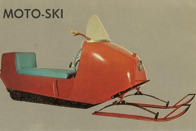 Moto-Ski, Early Snomobile