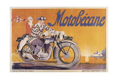 Motobecane-Marcus Jules-Giclee Print