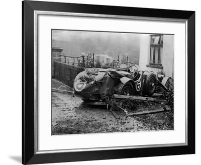 Motor Accident--Framed Photographic Print