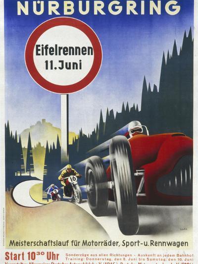 Motor Racing 1930s--Giclee Print