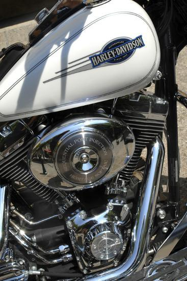 Motorcycle Engine-Tony Craddock-Photographic Print