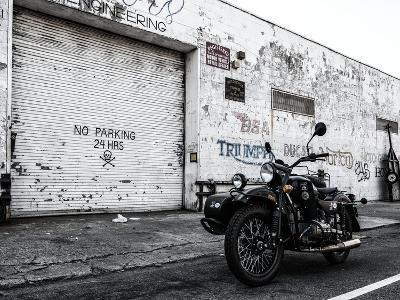 Motorcycle Garage in Brooklyn-Philippe Hugonnard-Photographic Print
