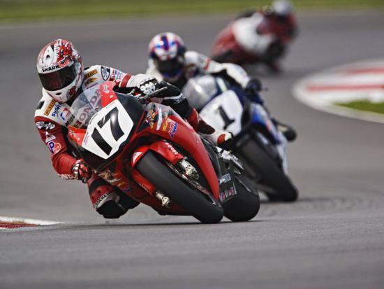 Mid Ohio Raceway >> Motorcycle Racer Mid Ohio Raceway Lexington Ohio Usa Photographic Print By Adam Jones Art Com