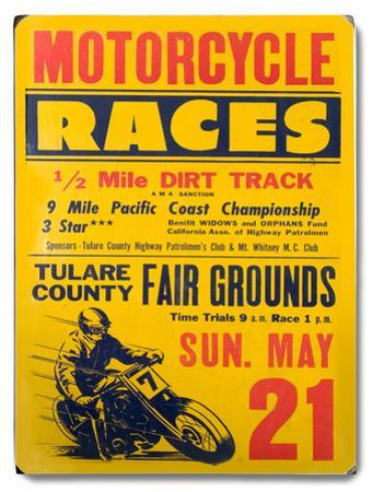 Motorcycle Races - Tulare County