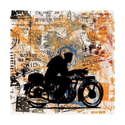 Motorcycle Travels-Petrafler-Art Print