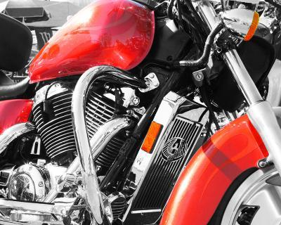 Motorcycle--Art Print
