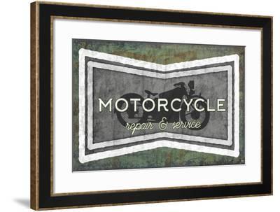 Motorcycle-Aubree Perrenoud-Framed Art Print
