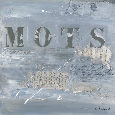 Mots-Michelle Boissonot-Art Print