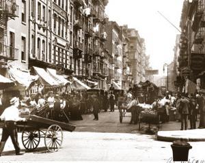 Mott Street, Manhattan, New York, c.1907