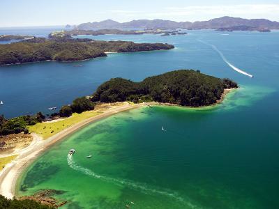 Motuarohia Island, Bay of Islands, Northland, New Zealand-David Wall-Photographic Print