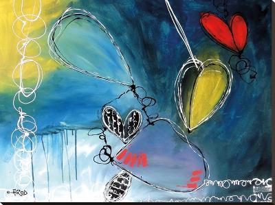 Motus 4-Annie Rodrigue-Stretched Canvas Print