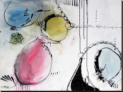 Motus 7-Annie Rodrigue-Stretched Canvas Print