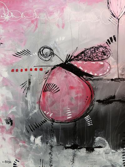 Motus Aux Fraises-Annie Rodrigue-Art Print