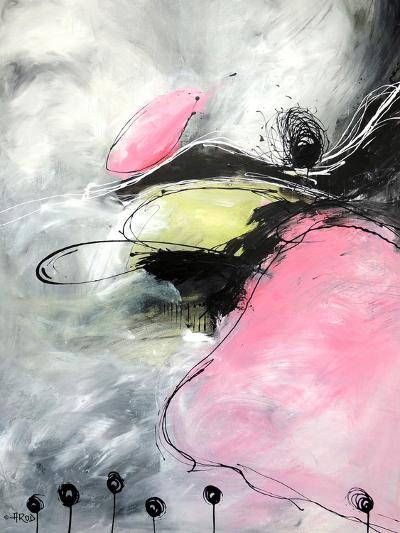 Motus Et Bouche Cousue-Annie Rodrigue-Art Print
