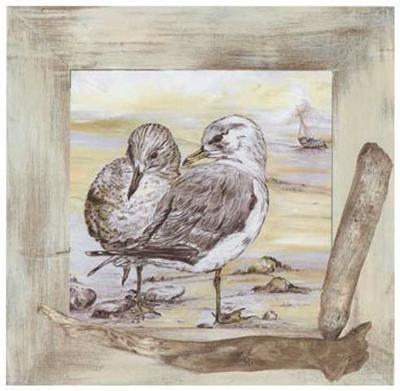 Mouettes-Clauva-Art Print