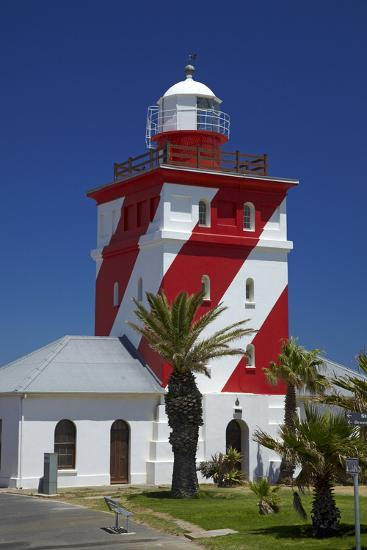 Mouille Point Lighthouse (1824), Cape Town, South Africa-David Wall-Photographic Print