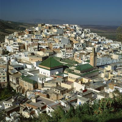 Moulay Idriss, Including the Tomb and Zaouia of Moulay Idriss, Morocco-Tony Gervis-Photographic Print