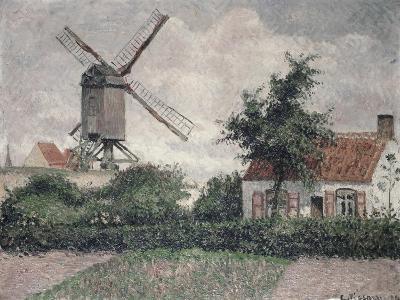 Moulin a Knocke, Belgique-Camille Pissarro-Giclee Print