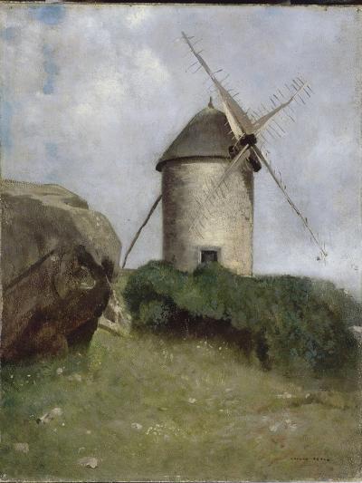 Moulin en Bretagne-Odilon Redon-Giclee Print