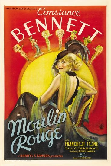 Moulin Rouge, 1934, Directed by Sidney Lanfield--Giclee Print