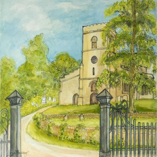 Moulton Curch, 2010-Joan Thewsey-Giclee Print