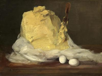 Mound of Butter, 1875-85-Antoine Vollon-Giclee Print