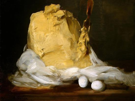 Mound of Butter-Antoine Vollon-Giclee Print