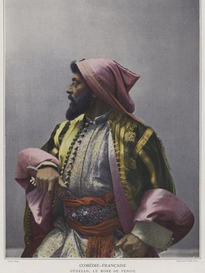 Mounet-Sully in the Title Role in Othello--Photographic Print