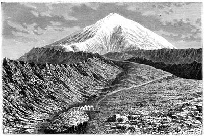 Mount Ararat, Turkey, 19th Century- Barrant-Giclee Print
