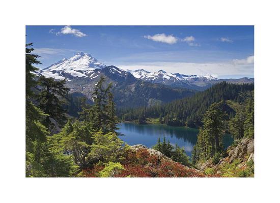 Mount Baker-Donald Paulson-Giclee Print