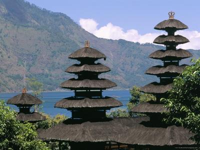 Mount Batur, Island of Bali, Indonesia, Southeast Asia-Bruno Morandi-Photographic Print