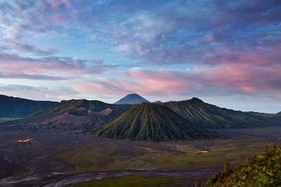 Mount Bromo Volcano and Bromo Tengger Semeru National Park-Alex Saberi-Photographic Print