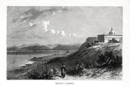 Mount Carmel, Israel, 19th Century-J Quartley-Giclee Print