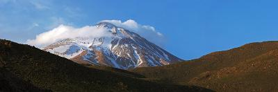 Mount Damavand Is a Live Volcano and the Highest Peak in the Middle East-Babak Tafreshi-Photographic Print