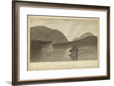 Mount Desert, Coast of Maine-R^ Hinshelwood-Framed Art Print