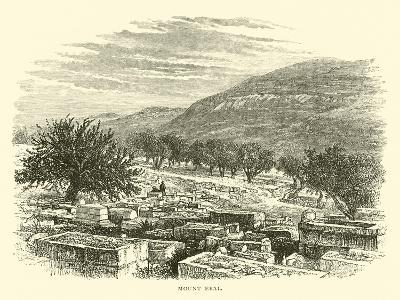 Mount Ebal--Giclee Print