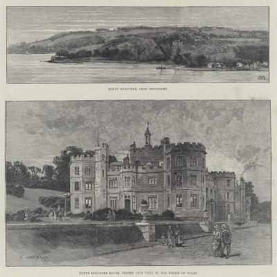 Mount Edgcumbe House-Charles Auguste Loye-Giclee Print