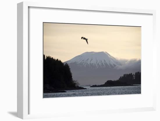 Mount Edgecumbe Near Sitka, Southeast Alaska-Ira Block-Framed Photographic Print