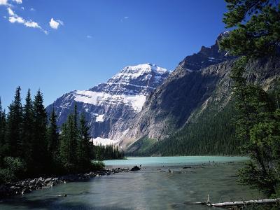 Mount Edith Cavell, Jasper National Park, Rocky Mountains, Alberta, Canada-Geoff Renner-Photographic Print