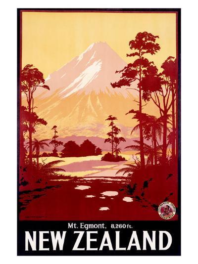 Mount Egmont, New Zealand--Giclee Print