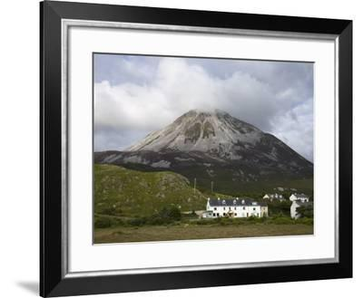 Mount Errigal and Dunlewy Village, County Donegal, Ulster, Republic of Ireland, Europe-Richard Cummins-Framed Photographic Print
