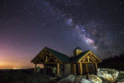 Mount Evans Visitor Cabin-Darren White Photography-Photographic Print