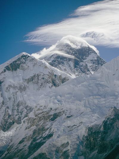 Mount Everest Viewed from Kala Pattar-Michael Klesius-Photographic Print
