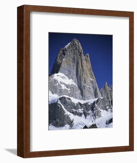 Mount Fitz Roy in Argentina-Craig Lovell-Framed Photographic Print