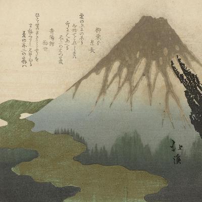 Mount Fuji, 1890-1900-Toyota Hokkei-Giclee Print