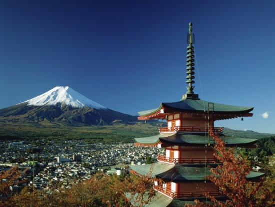 Mount Fuji Japan--Photographic Print