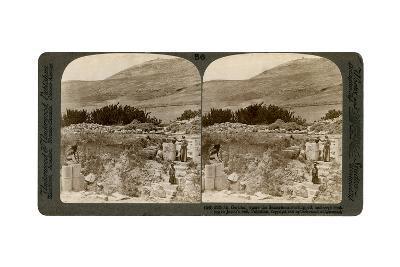 Mount Gerizim, Where the Samaritans Worshipped, Palestine, 1900-Underwood & Underwood-Giclee Print