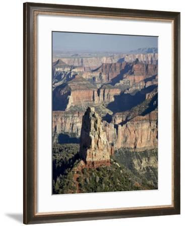 Mount Hayden from Point Imperial, Grand Canyon National Park, Arizona-James Hager-Framed Photographic Print